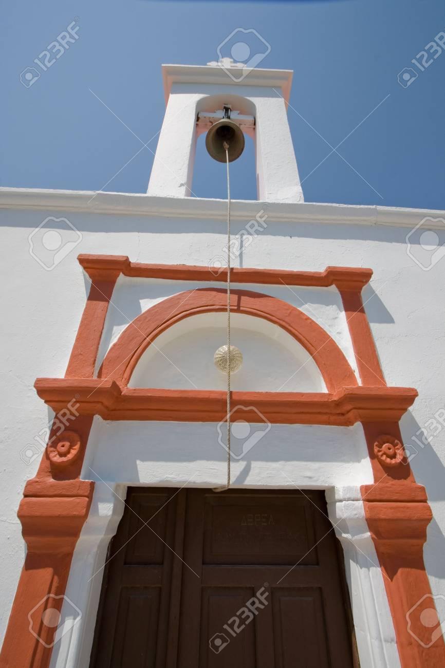 detail of greek church Stock Photo - 4094754