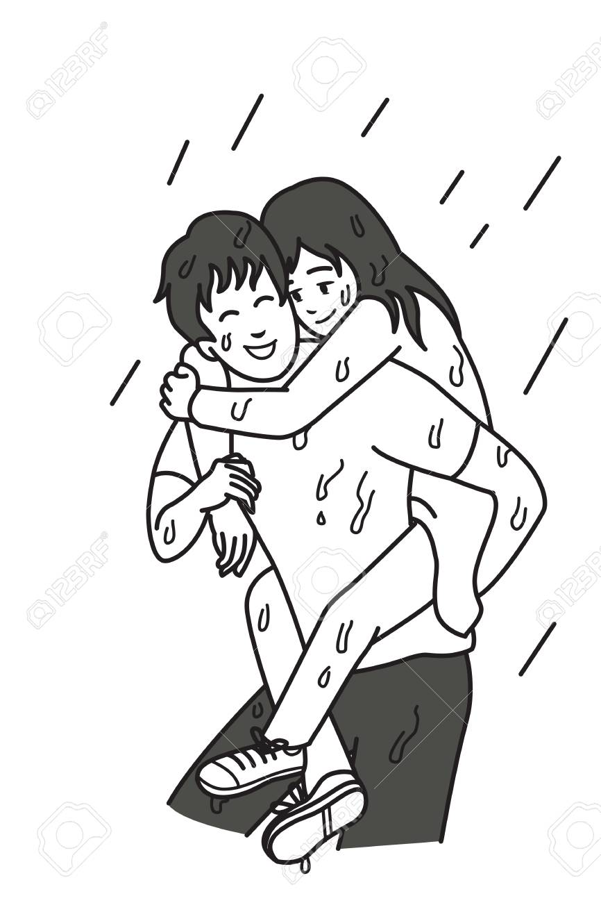 relationship cartoon drawings