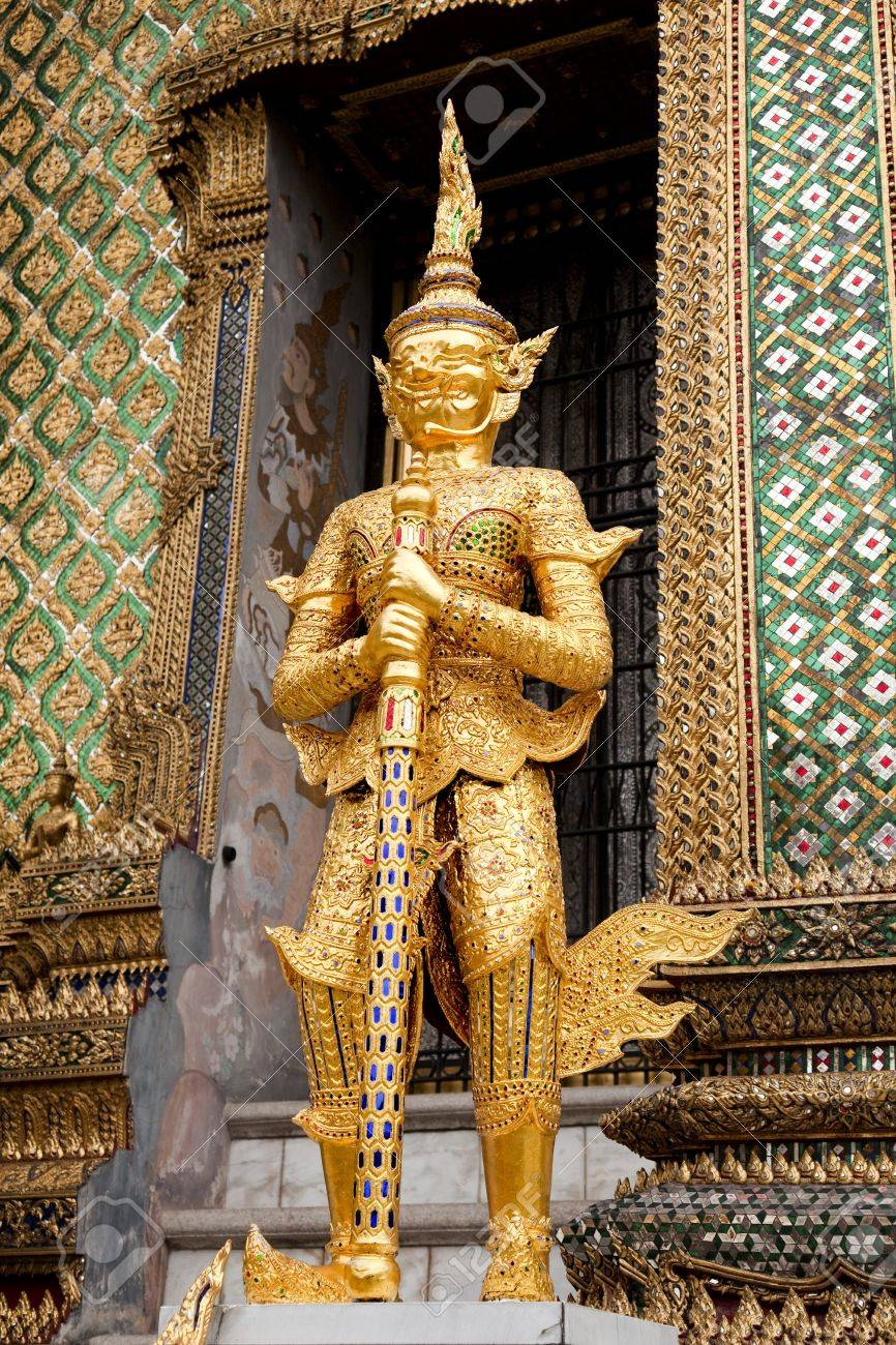 gold watch  Bangkok Royal Palace Stock Photo - 16270372