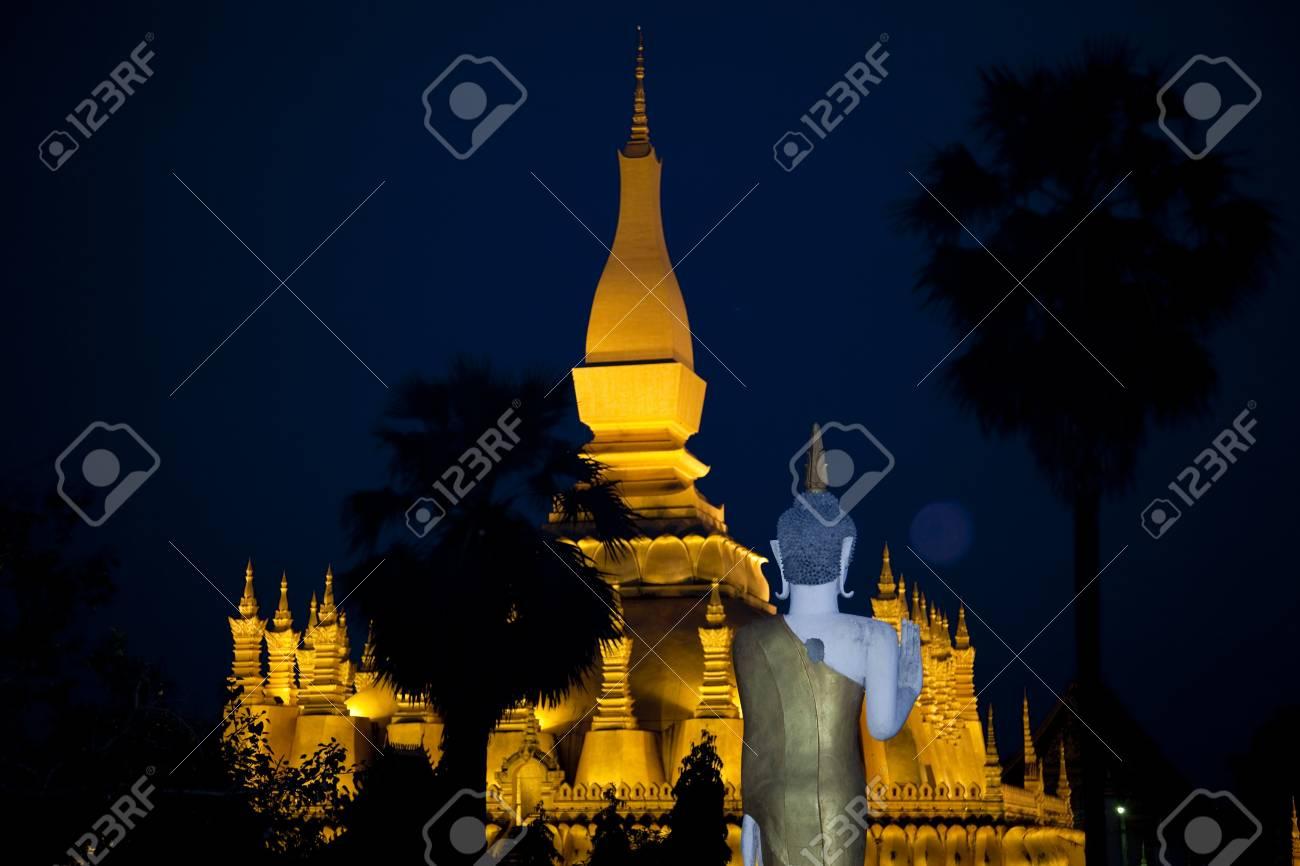 Laos  Vientiane Stock Photo - 19590046