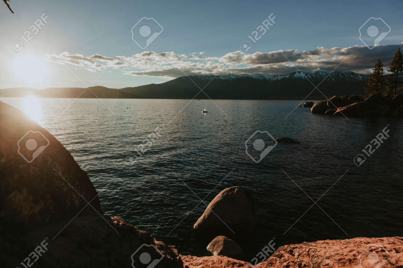 Tahoe lake, Californa, USA - 166977606