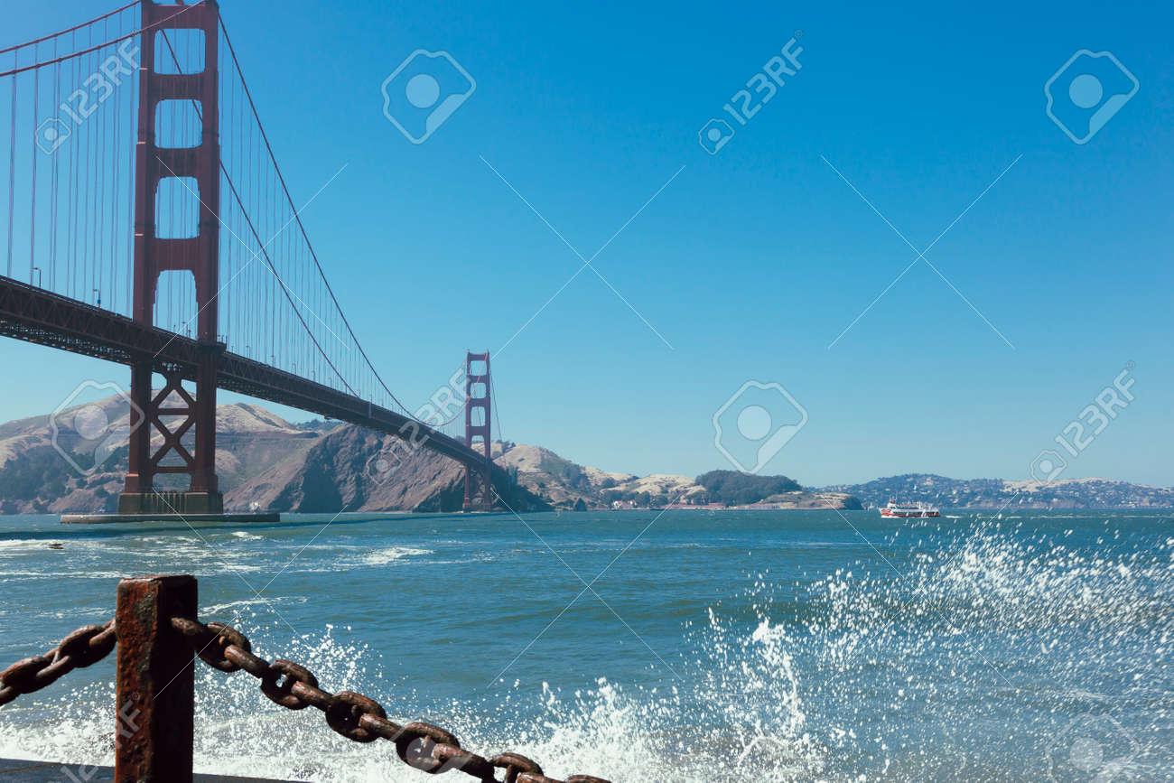 Golden Gate Bridge. San francisco California - 166977627