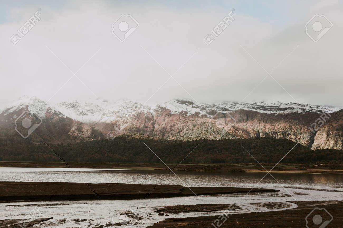 Winter in Conguillio Park. Chile - 167863764