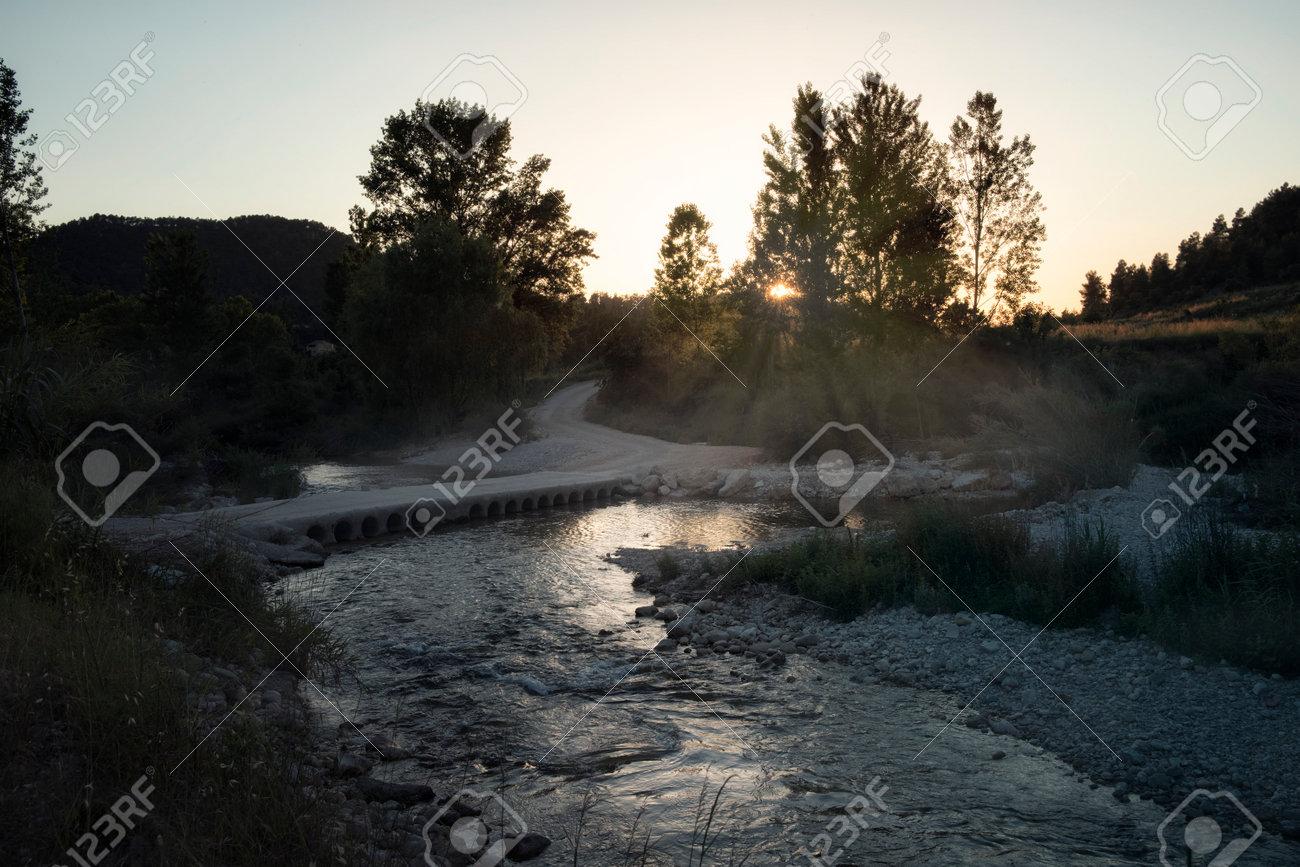 Matarranya river in Teruel province - 168023264