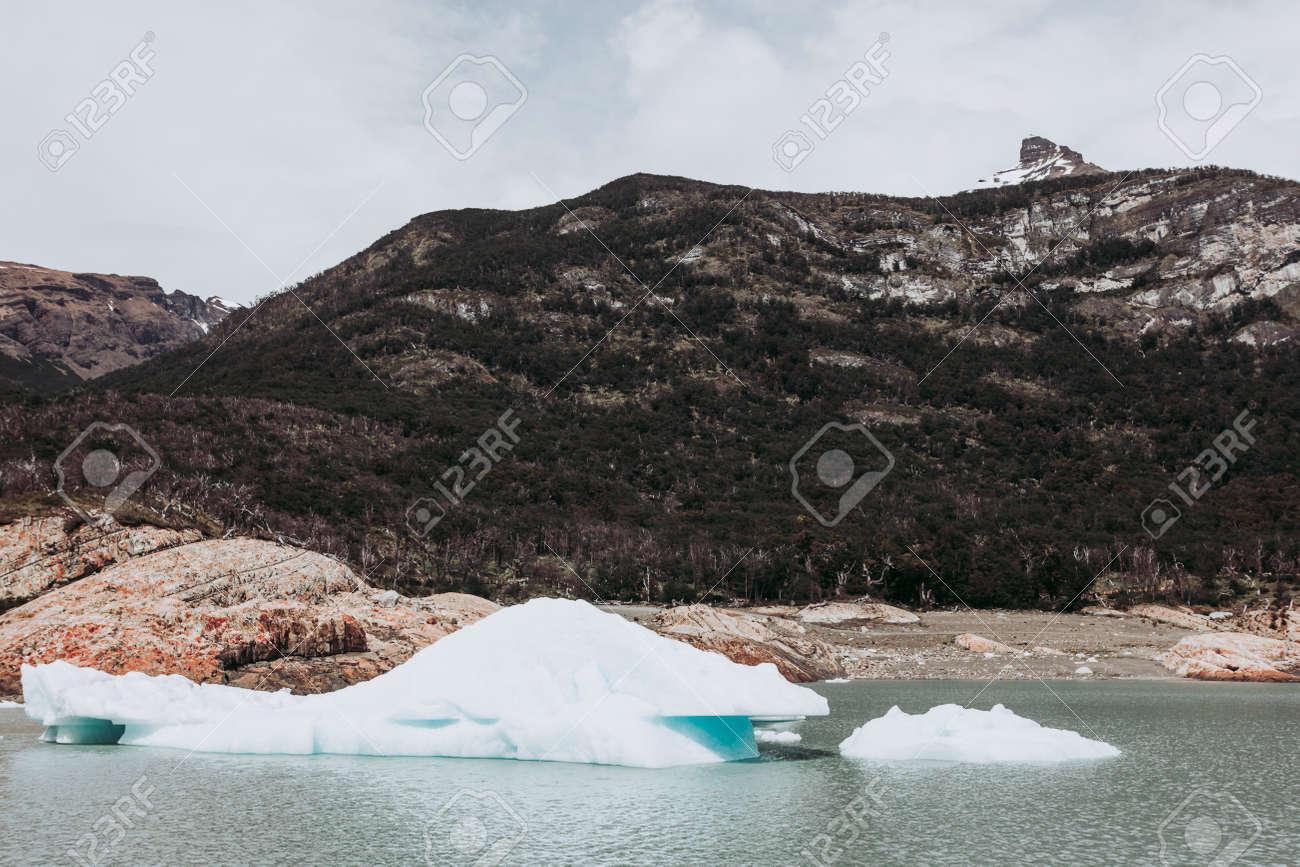 Los Glaciares National Park in the south west of Santa Cruz province, Argentina. - 166686401