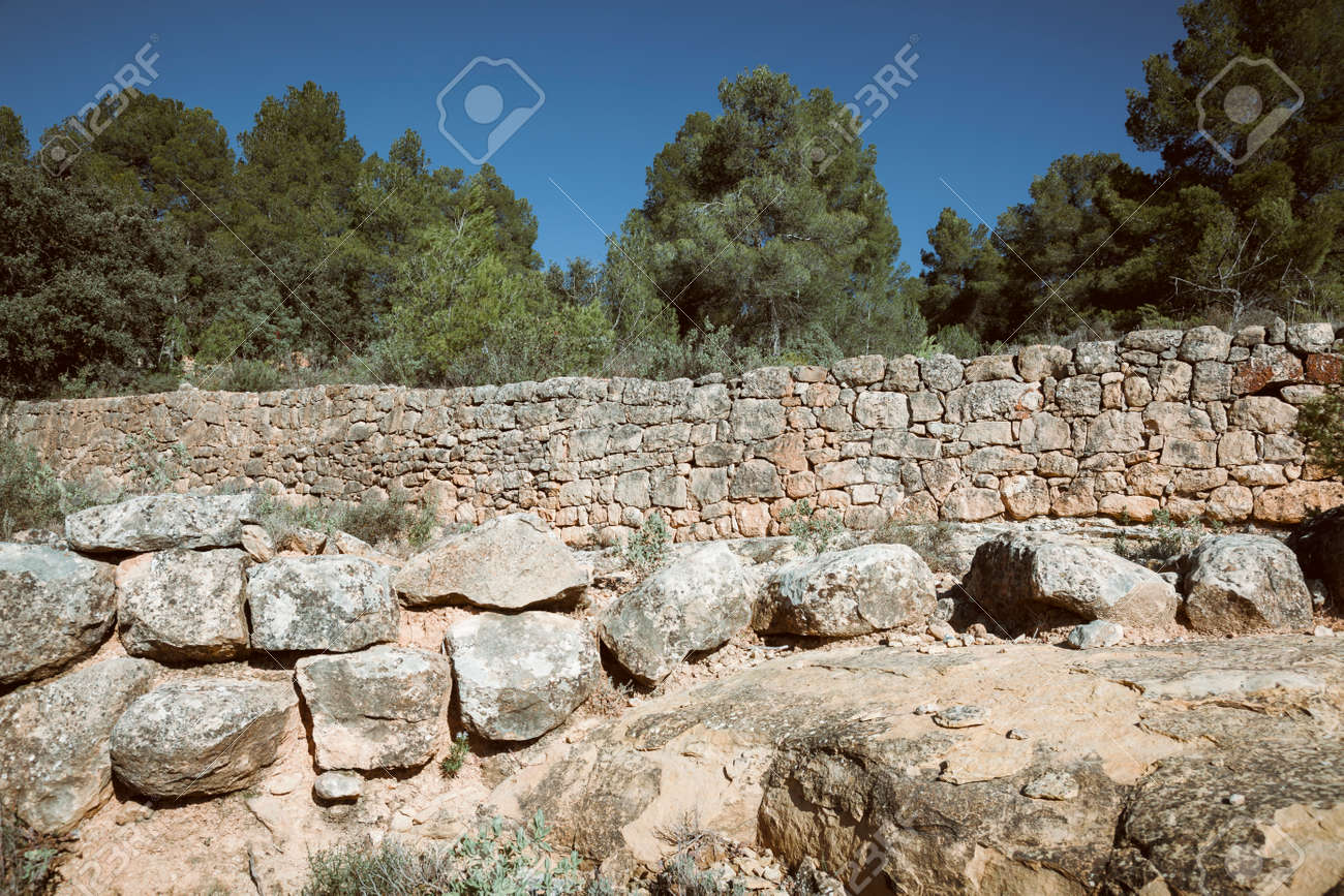 The art of building walls in dry stone, traditional in rural areas of Croatia, Cyprus, France, Greece, Italy, Slovenia, Spain and Switzerland, was inscribed today in its Representative List of the Intangible Cultural Heritage of Humanity - 167746325