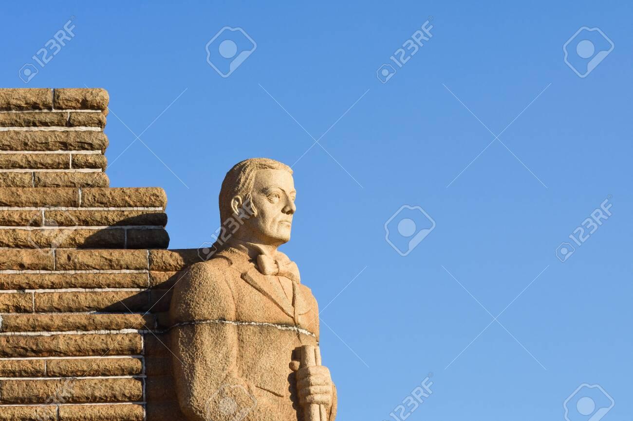 The Andries Pretorius Cornerstone Of The Voortrekker Monument Memorial, Pretoria, South Africa - 144069869
