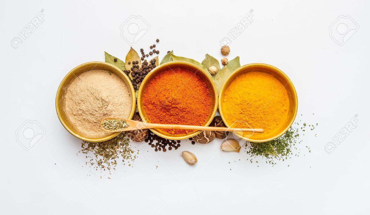 Food and spices herb for cooking background and design. Stock Photo - 42070983