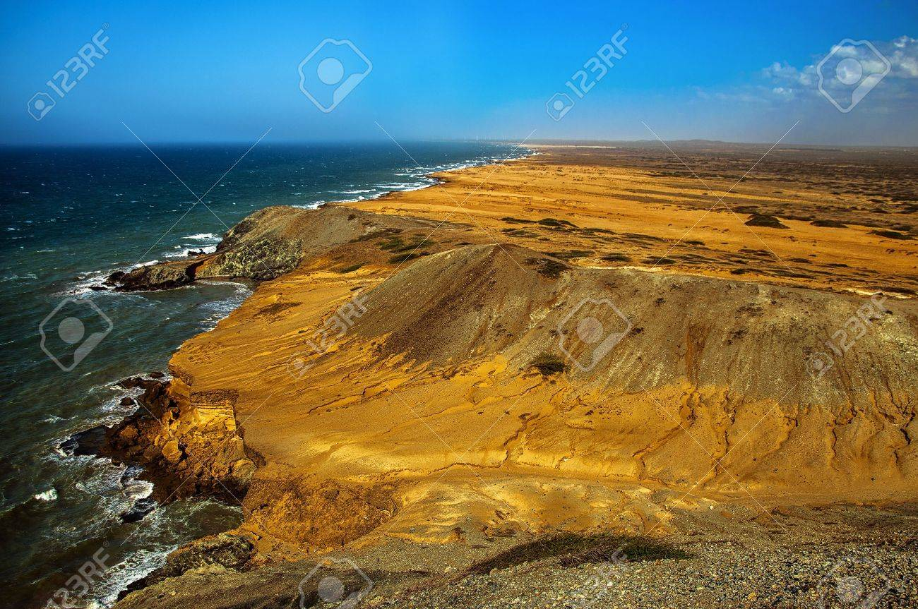 The view as seen from Pilon de Azucar in La Guajira, Colombia Stock Photo - 14832952
