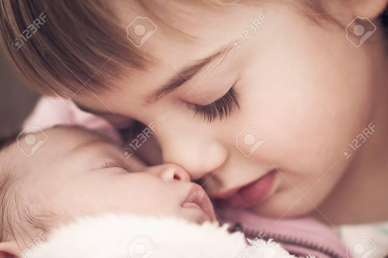 sibling love Stock Photo - 20837174