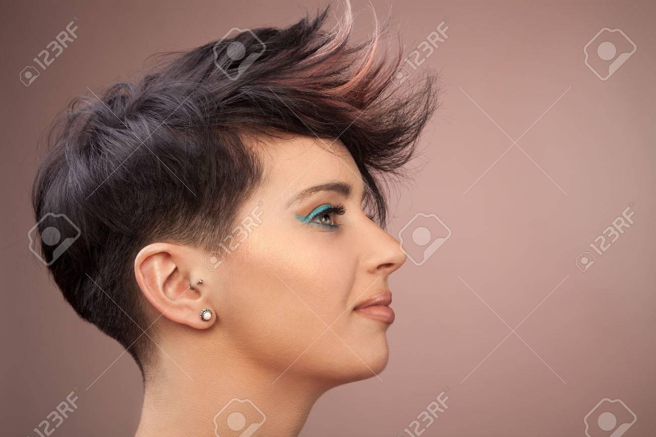 Cool hair Stock Photo - 37041147