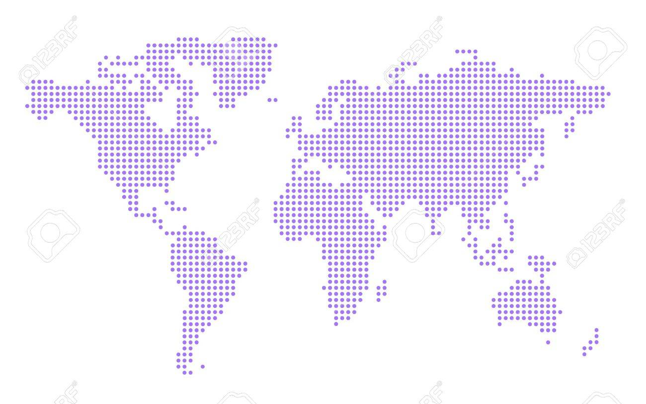 Simple world map make up of blue dots stock photo picture and simple world map make up of blue dots stock photo 320473 gumiabroncs Gallery