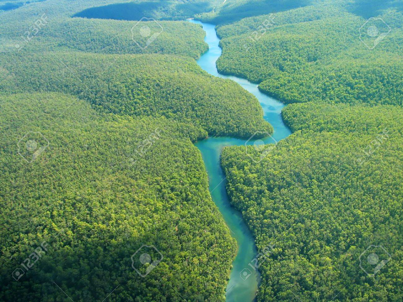 Aerial Photography - The River - 438049