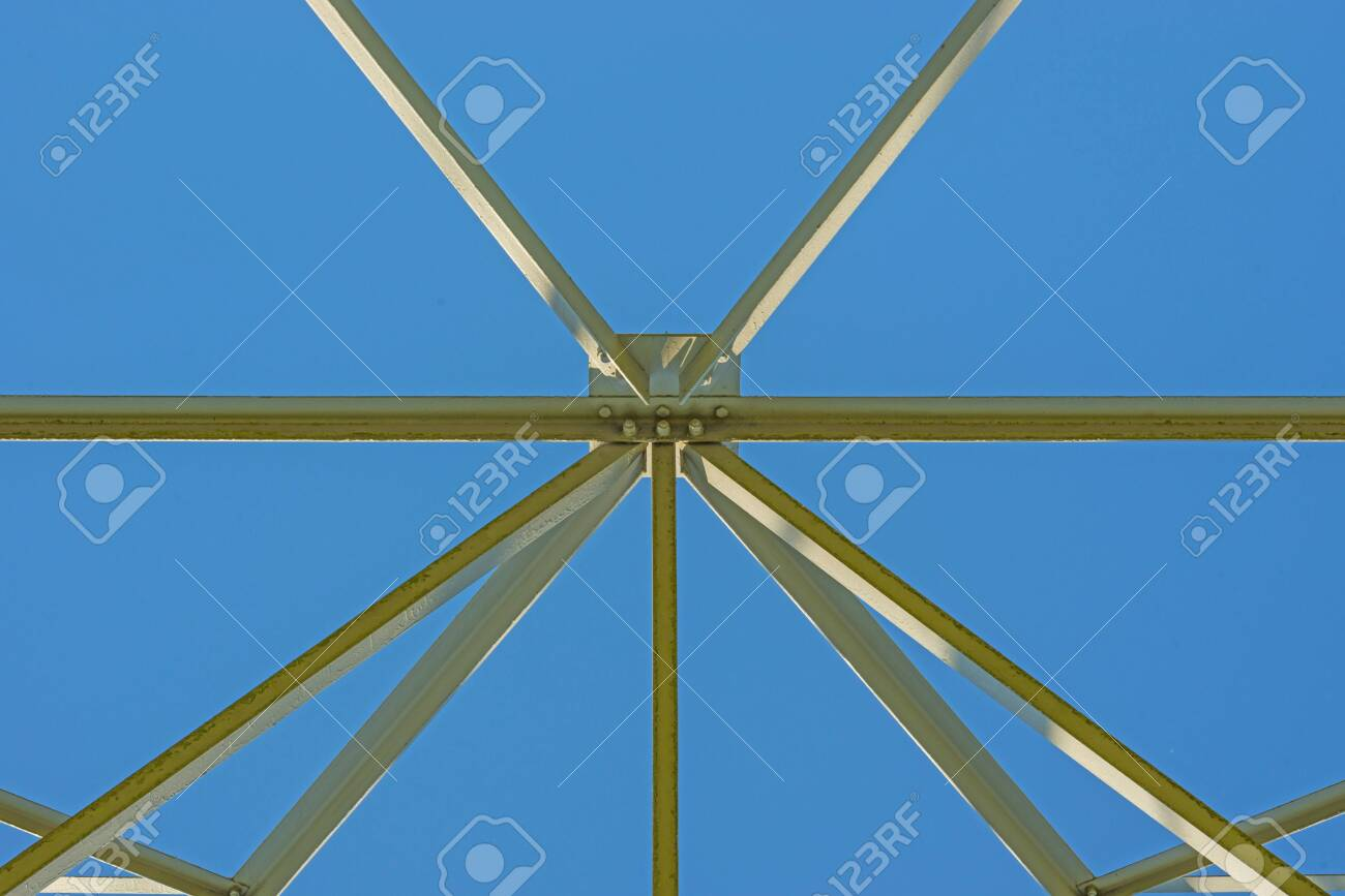 The Aesthetic Side Of The Construction Of A Transmission Tower Stock Photo Picture And Royalty Free Image Image 146428255