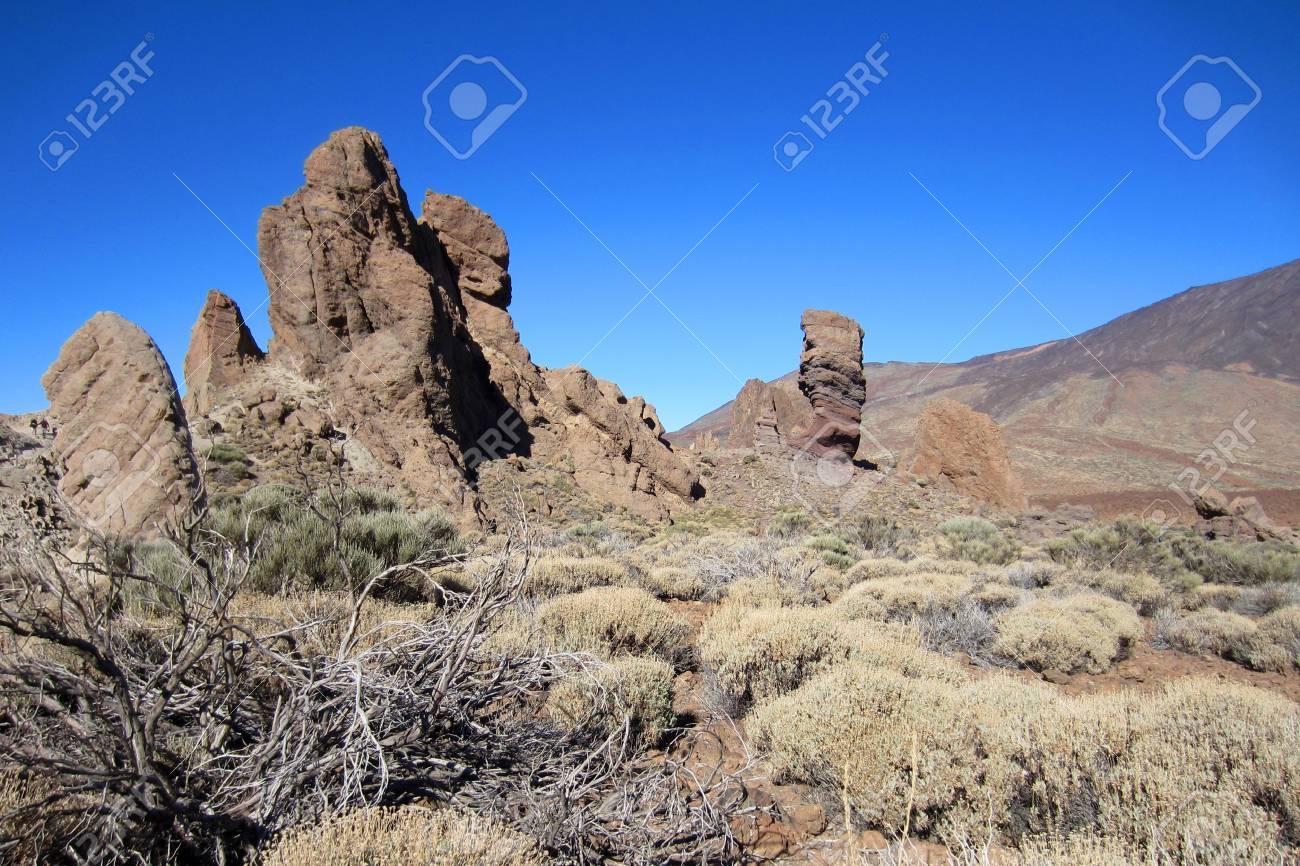 Tenerife - Los Roques de Garcia - el Teide Stock Photo - 12002611