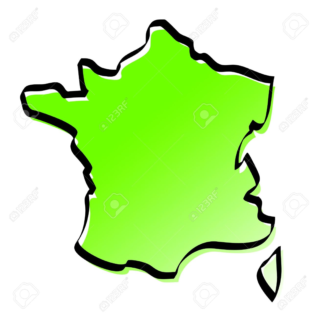 carte de france stylisée Stylized Map Of France Royalty Free Cliparts, Vectors, And Stock