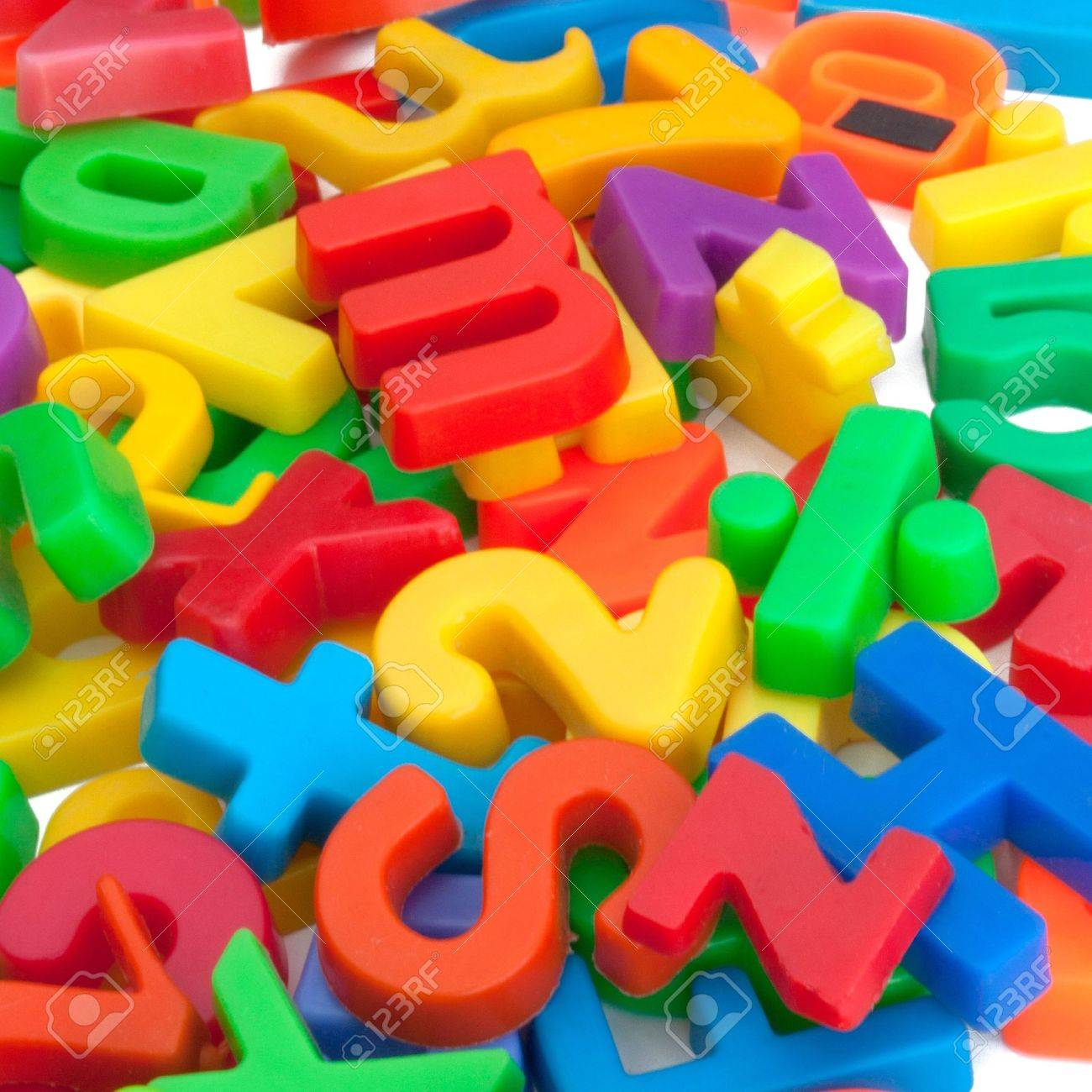 magnetic letters and numbers stock photo 12667362