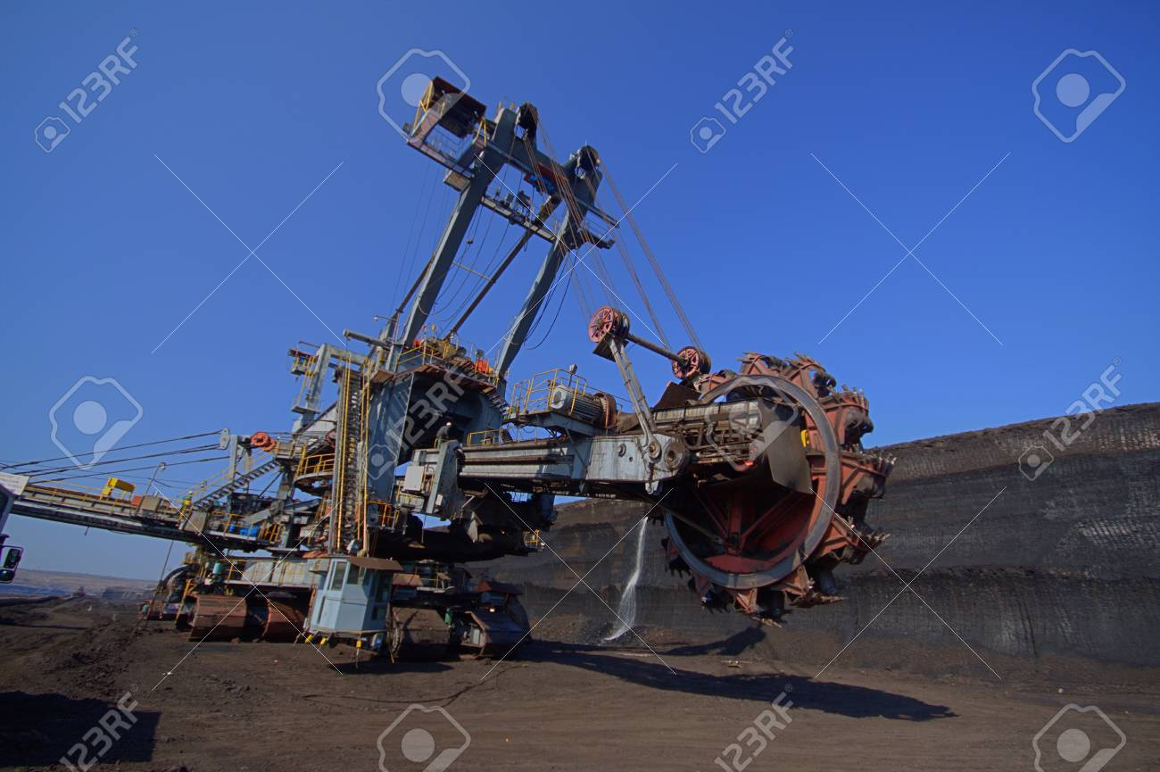 Transfer excavator on new place Stock Photo - 12546248