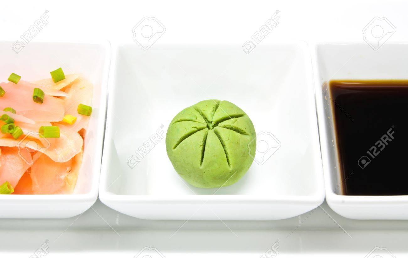 Wasabi Ginger Sauce Sauce And Wasabi For Sushi