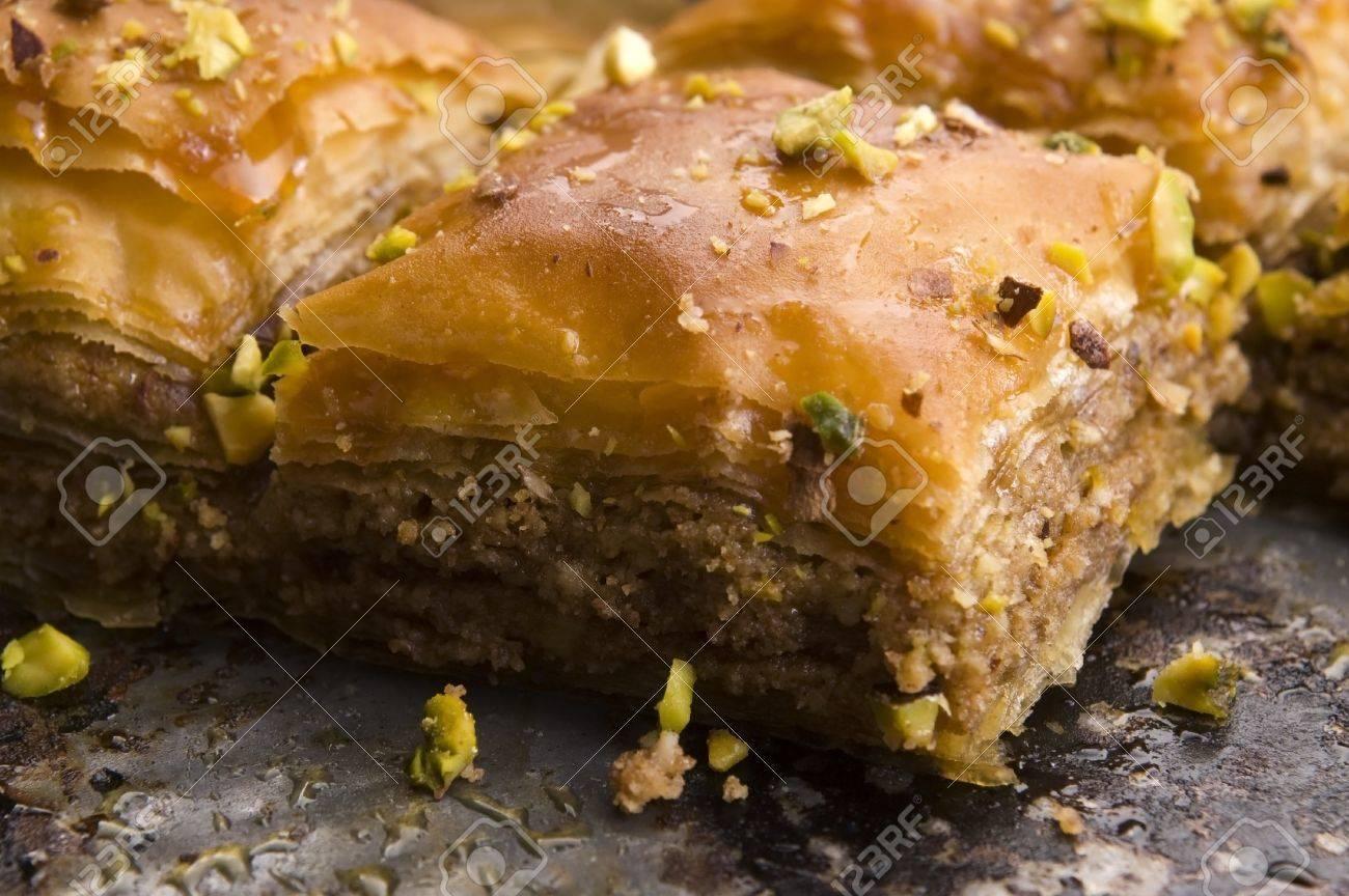 Baklava - traditional middle east sweet desert Stock Photo - 14971692