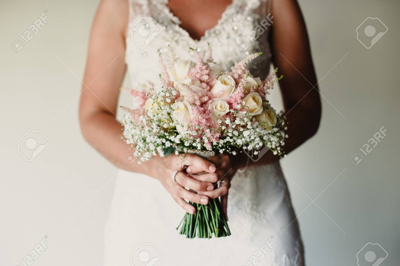 Colorful Bridal Bouquets With Flowers Stock Photo Picture And Royalty Free Image Image 114349243