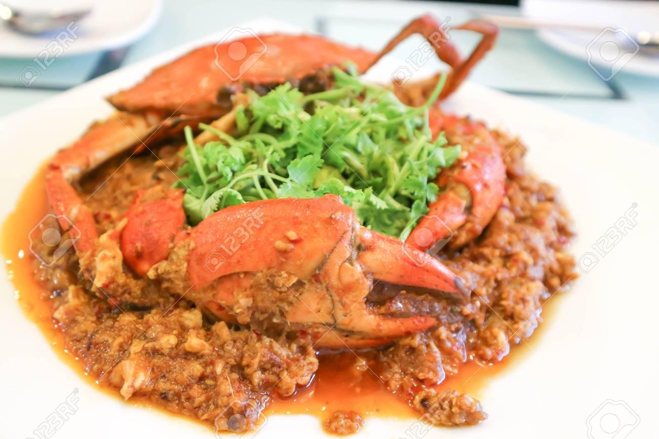 Chilli crab or singapore food singaporean chili crab recipe stock chilli crab or singapore food singaporean chili crab recipe stock photo 86248458 forumfinder Images