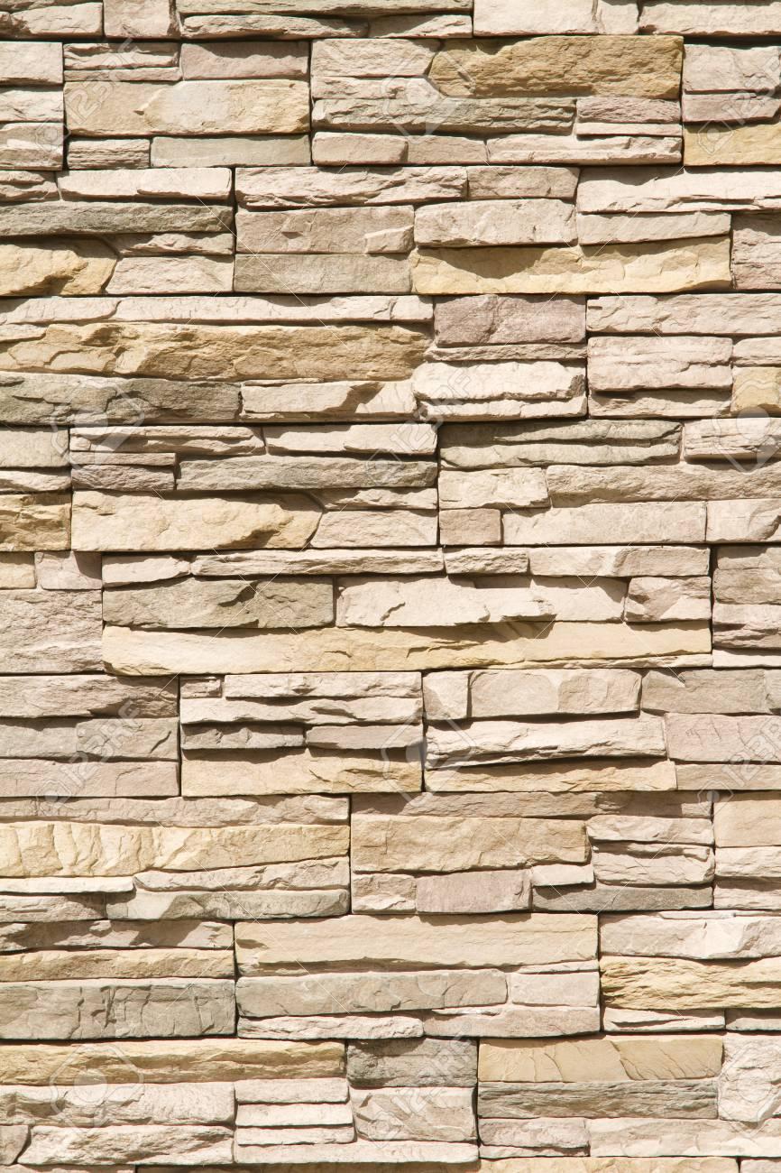 Endearing Brauntöne Wand Photo Of Stacked Steinmauer Hintergrund Der Warmen Brauntönen Im