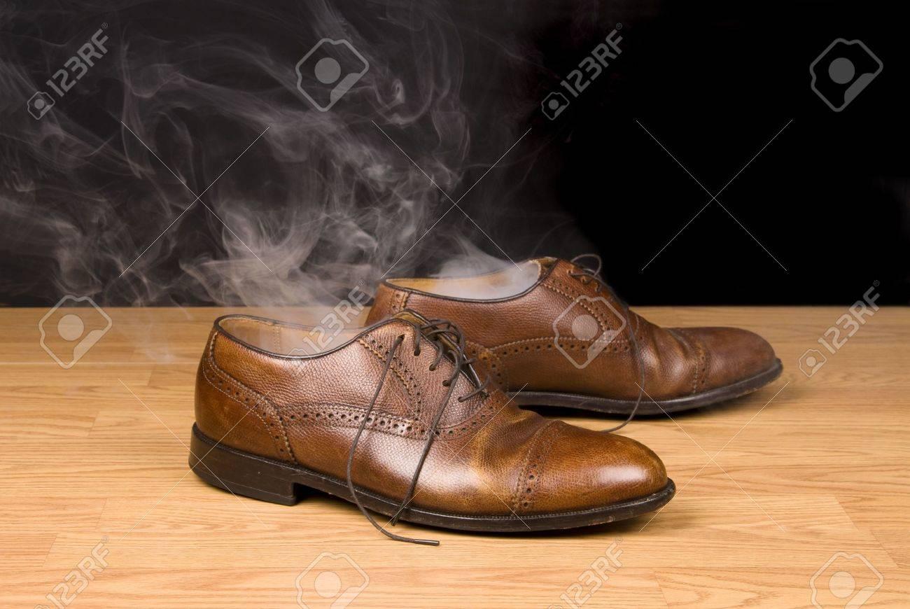 Schoenen stomen