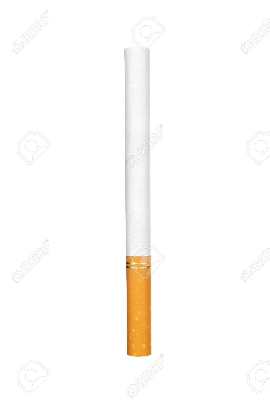 Cigarette isolated on white - 8905701