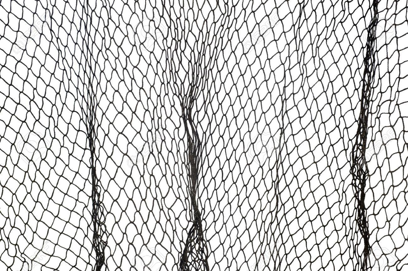 白い背景に対して漁網ダーク グ...
