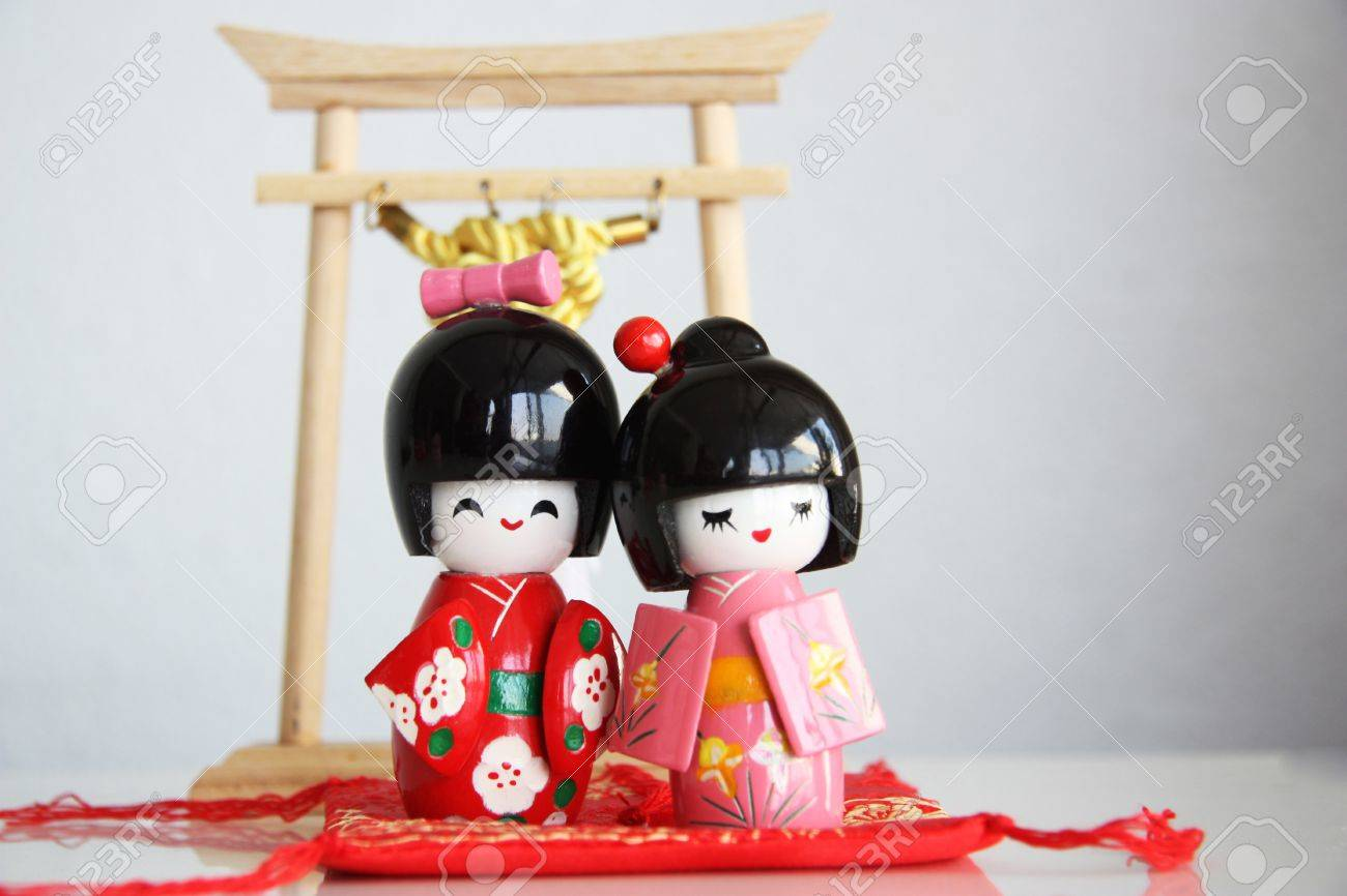 Doll lovers Stock Photo - 17589489