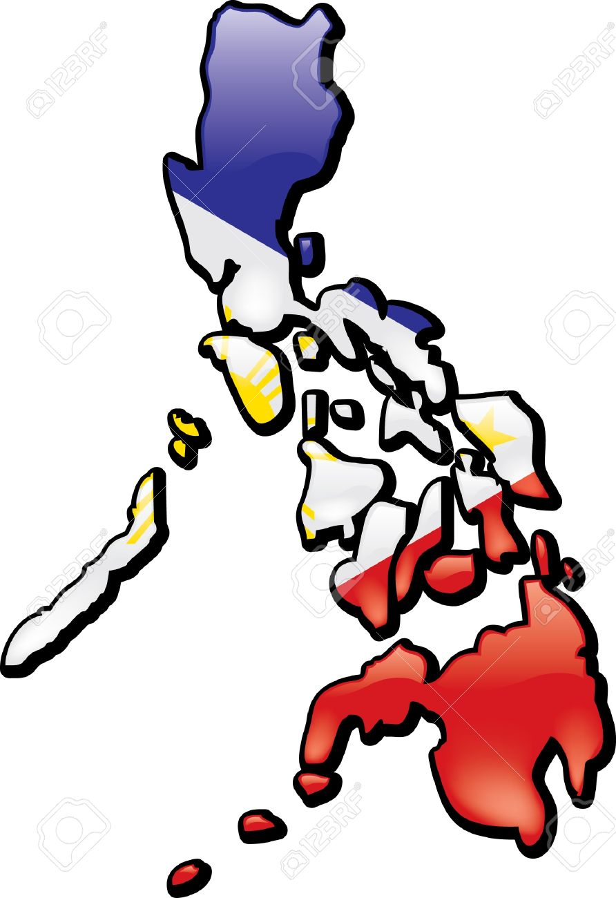 Philippine Map Clipart Philippines Royalty Free Cliparts, Vectors, And Stock Illustration