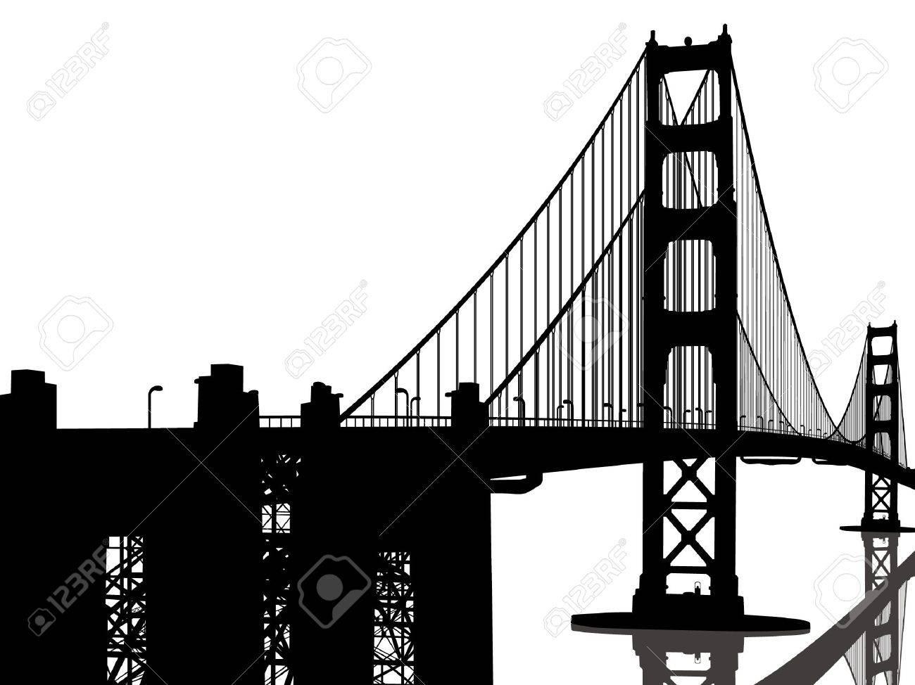 Golden Gate Bridge Stock Vector - 12470524