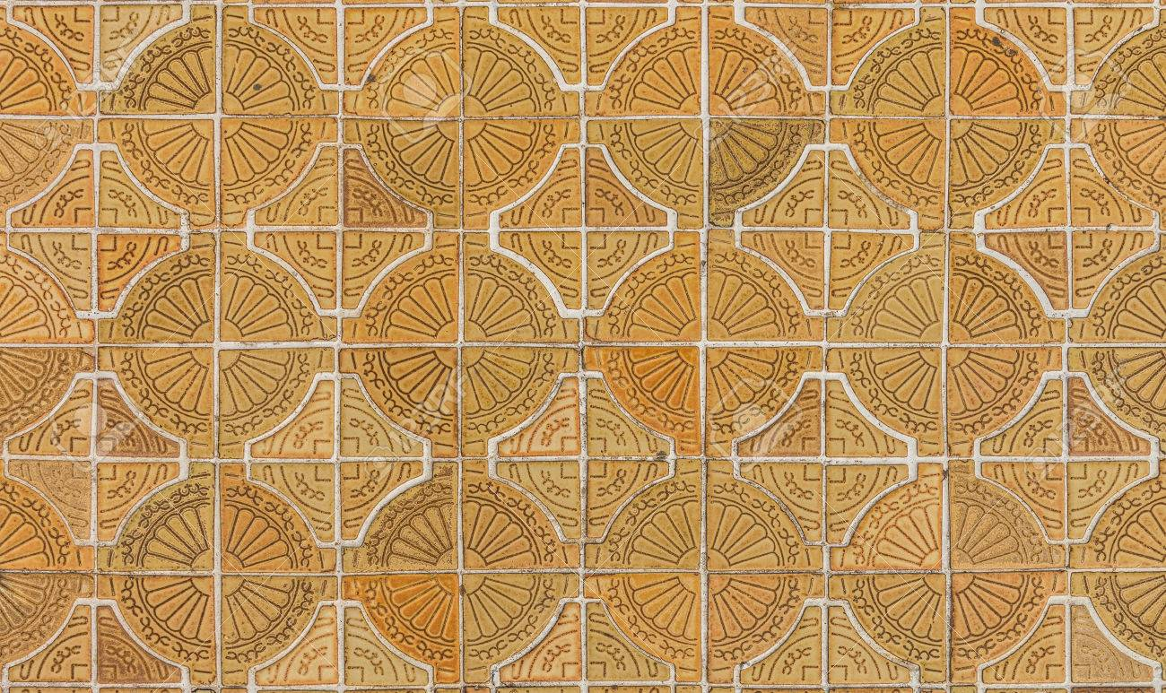 Circle Tiles Circle Tiles Pattern On Footpath Stock Photo Picture And Royalty