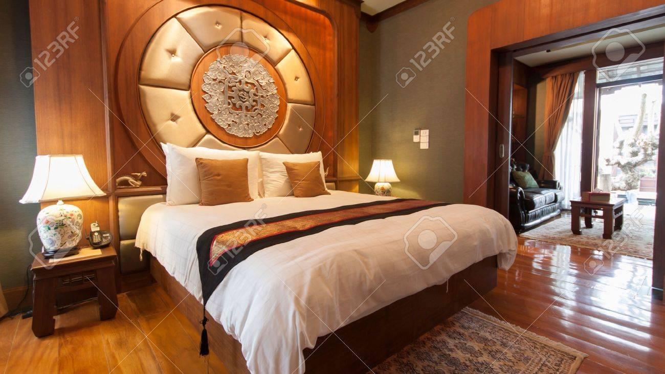 oriental chambre dhtel de luxe banque dimages 26281429 - Chambre Dhotel De Luxe