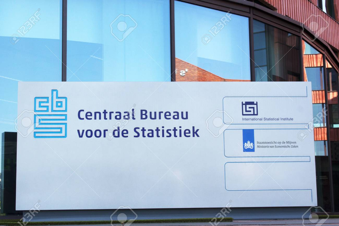 Amsterdam netherlands august 7 2015: the central bureau of.. stock