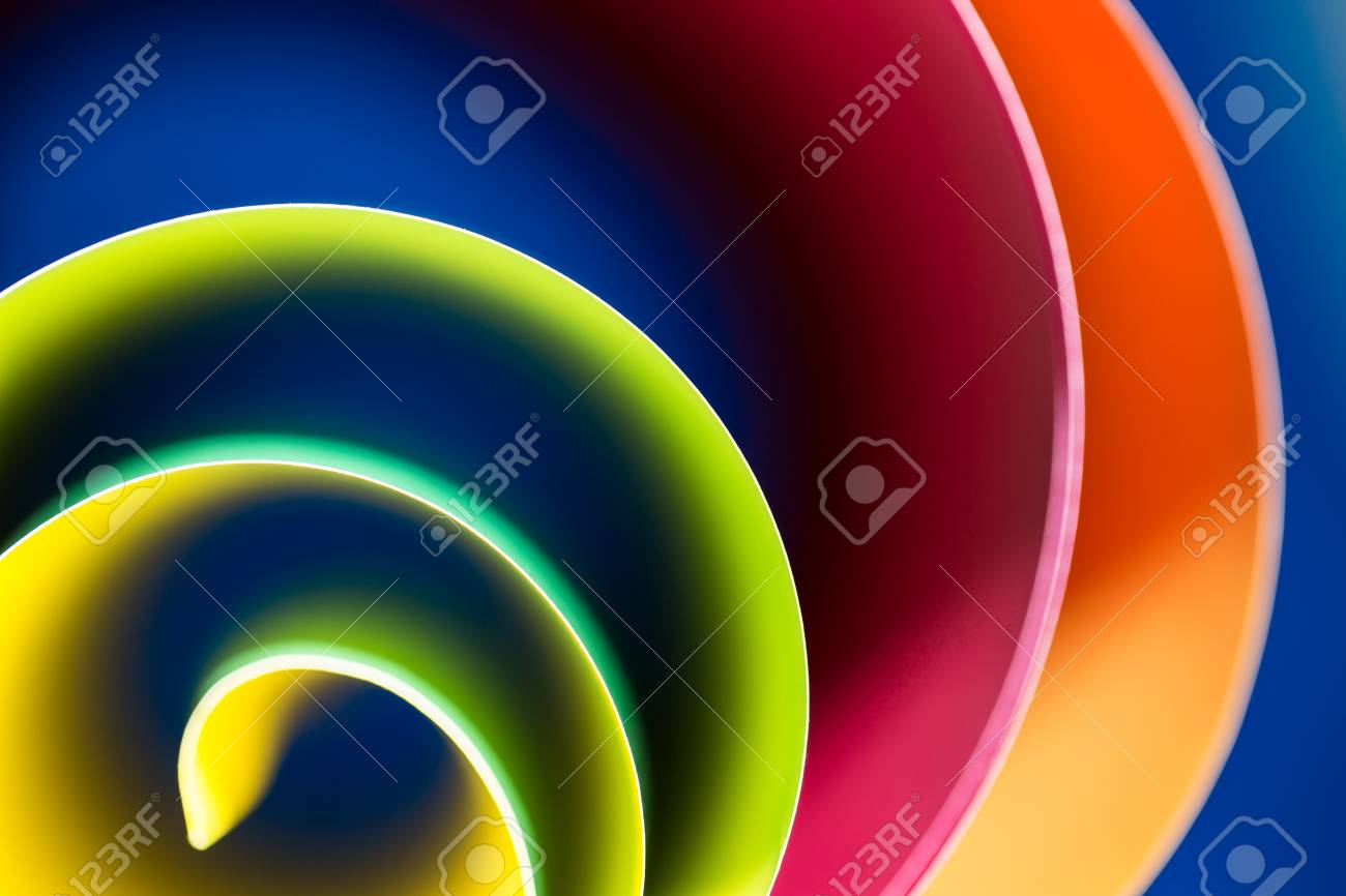 Stock Photo - abstract art of colorful, blur blue background and highlight to line. Gradient color is curve low key lighting abstract wallpaper.