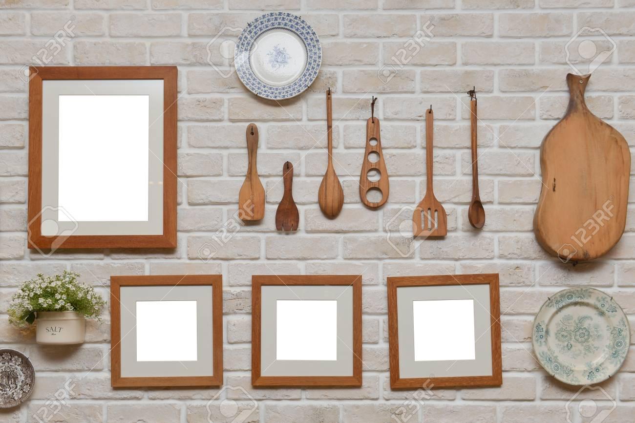 Kuchenwanddekoration Rahmen Design Ideen Und Fotos Bilderrahmen
