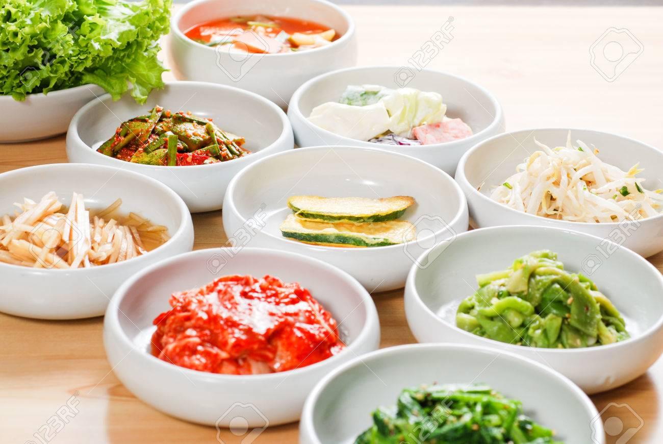 Korean side dishes - 57867127
