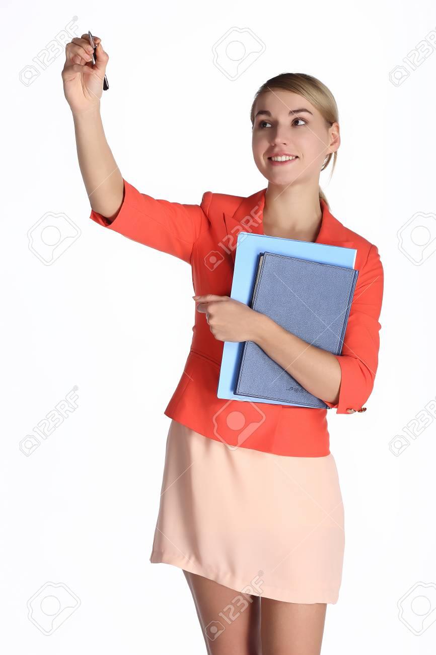 Office lady Stock Photo - 24092687