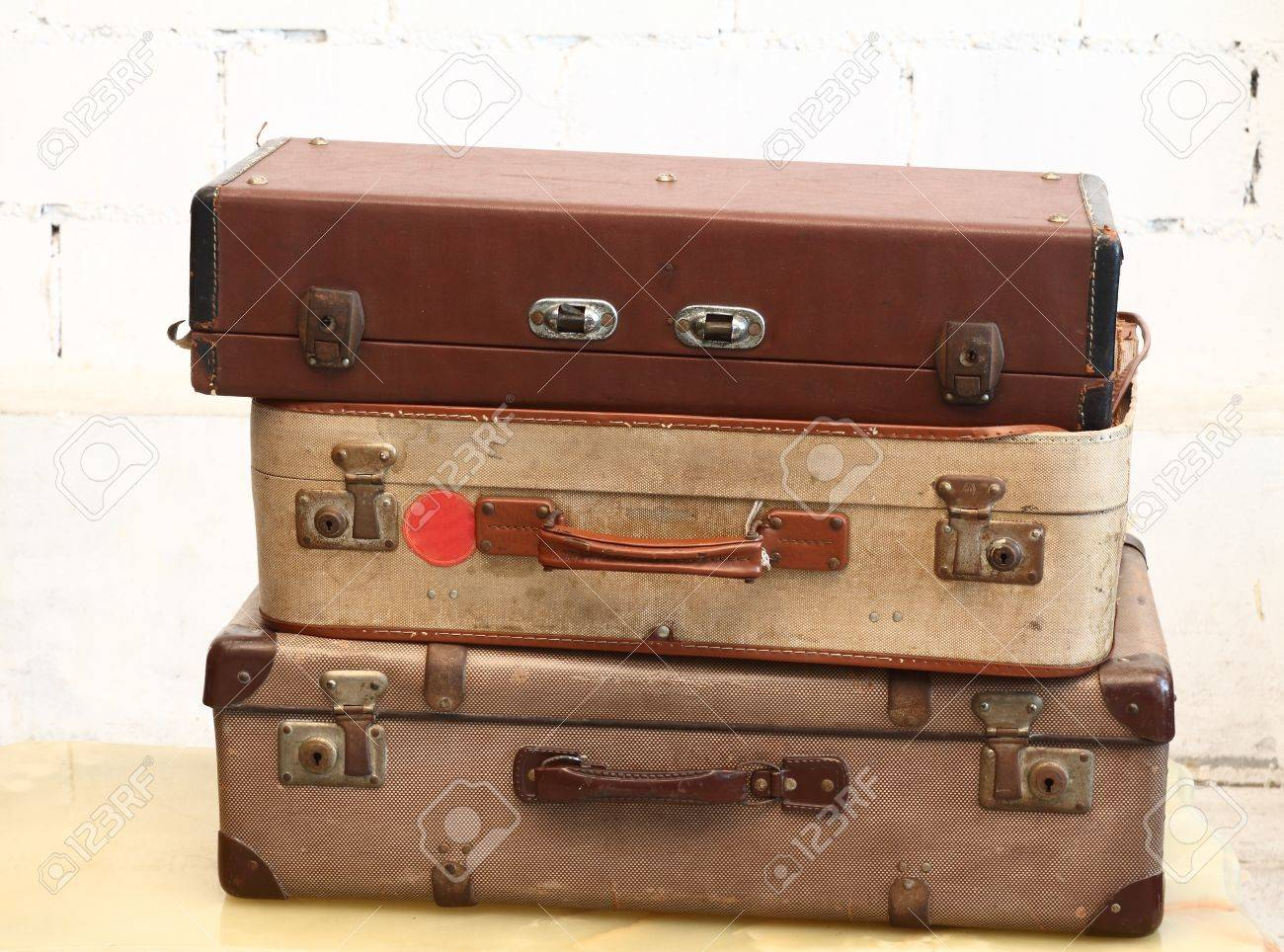 Vintage Luggage Stock Photo, Picture And Royalty Free Image. Image ...