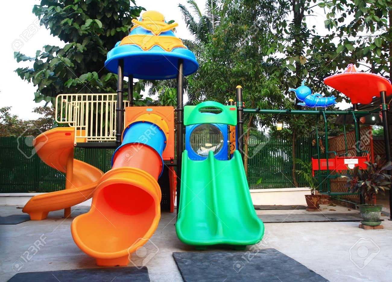 cartoon park playground Stock Photo - 16918342