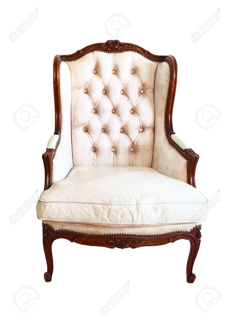 Luxuriöse Sessel Vintage Lizenzfreie Fotos Bilder Und Stock