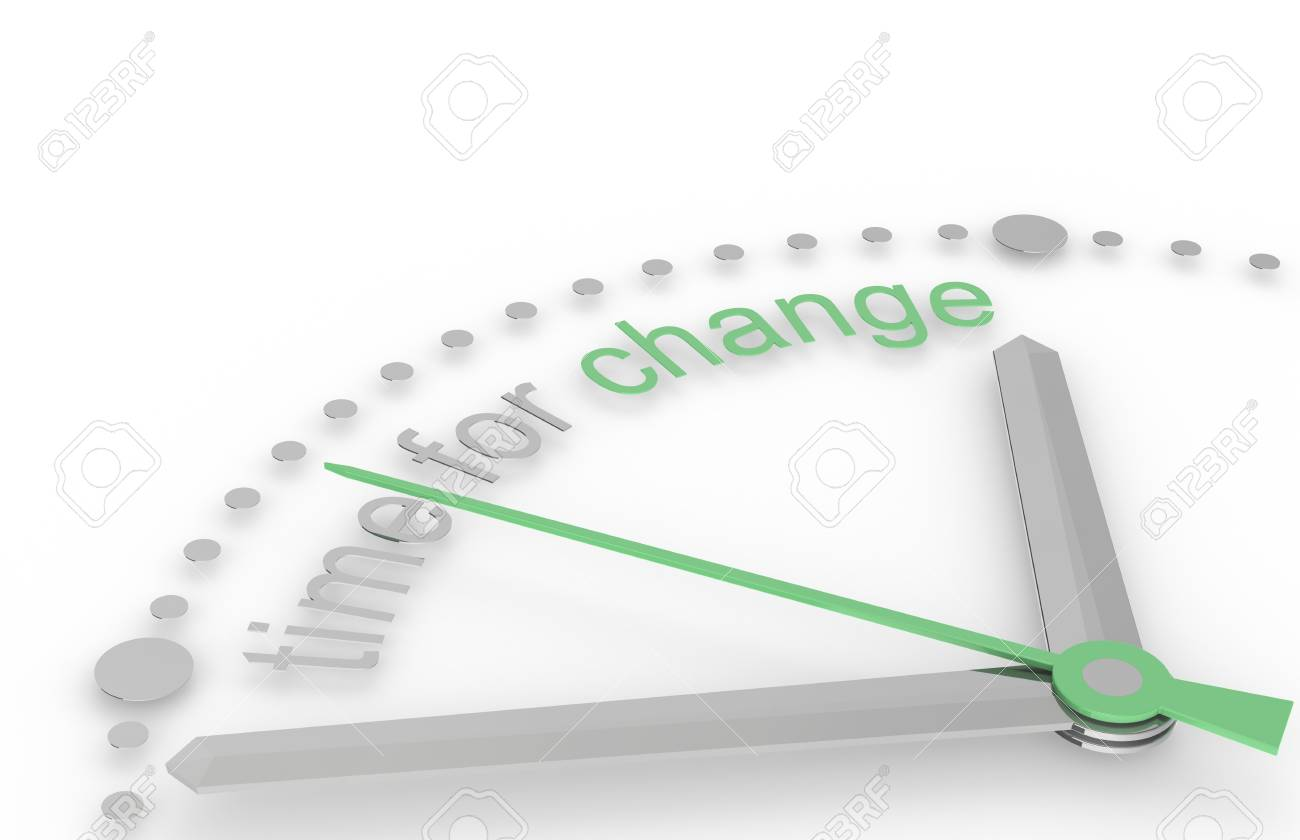 Time for Change, Eco Edition. Green Stock Photo - 9537436