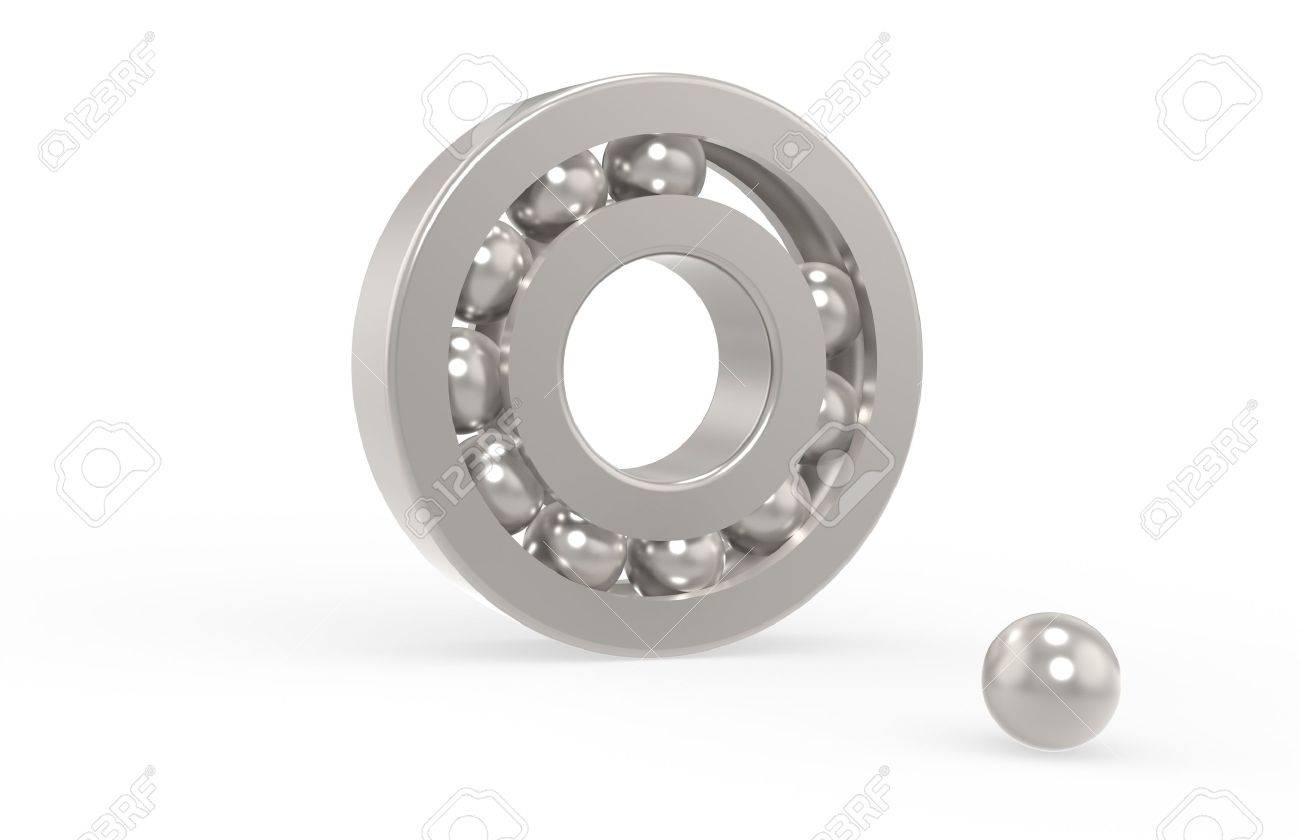 Bearing with missing ball Stock Photo - 9537319