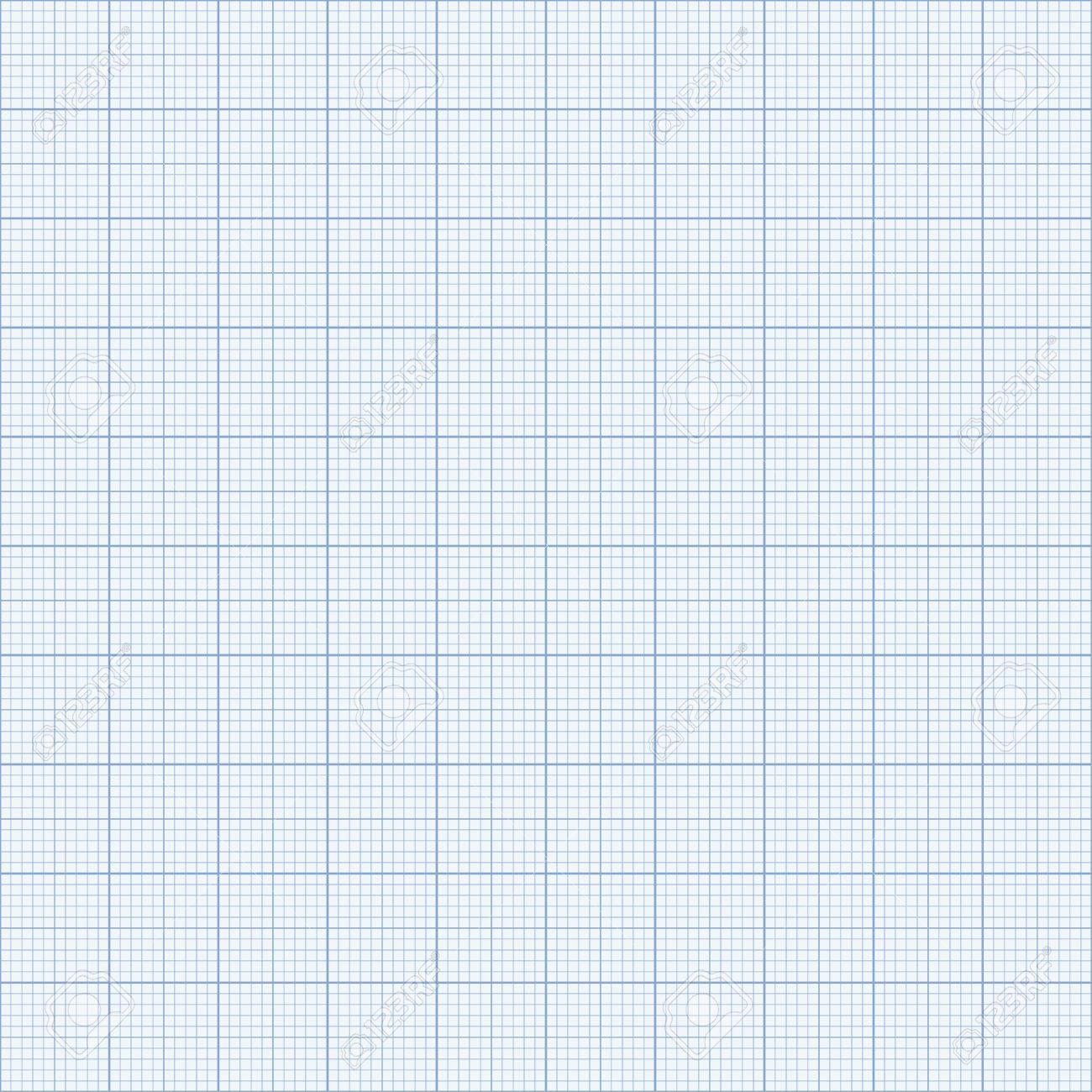 シームレスな方眼紙。青のグラフ...