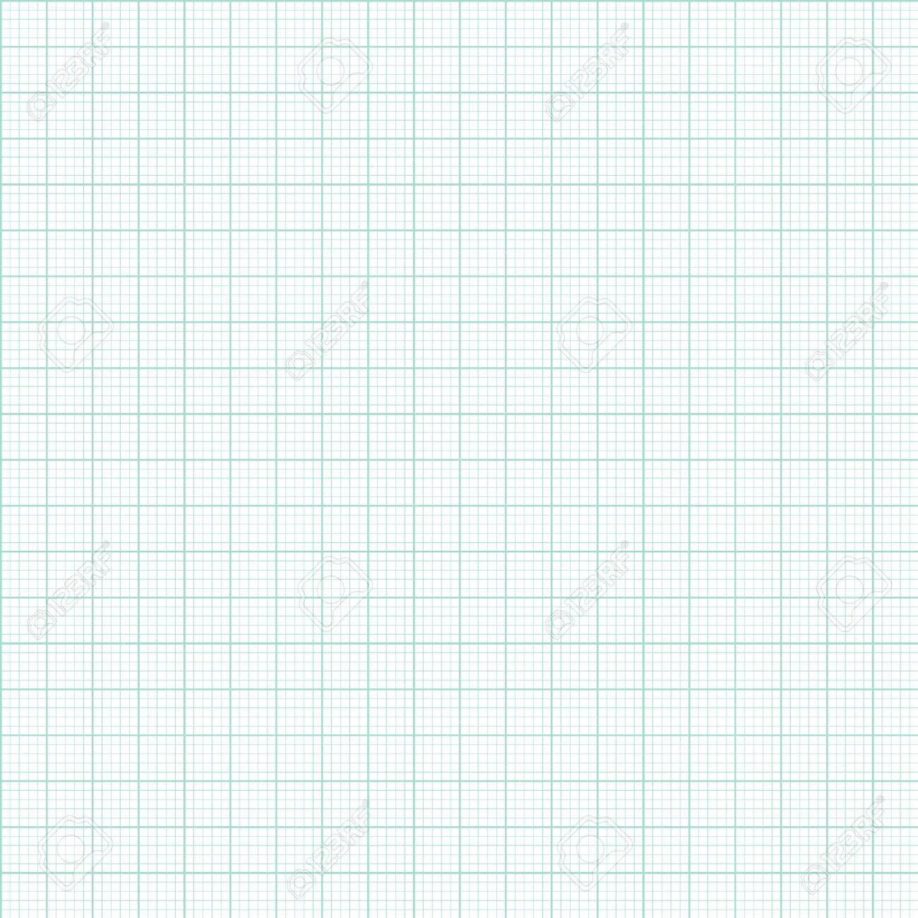Graph And Plotting Paper. Green Graph And Plotting Paper. Seamless ...