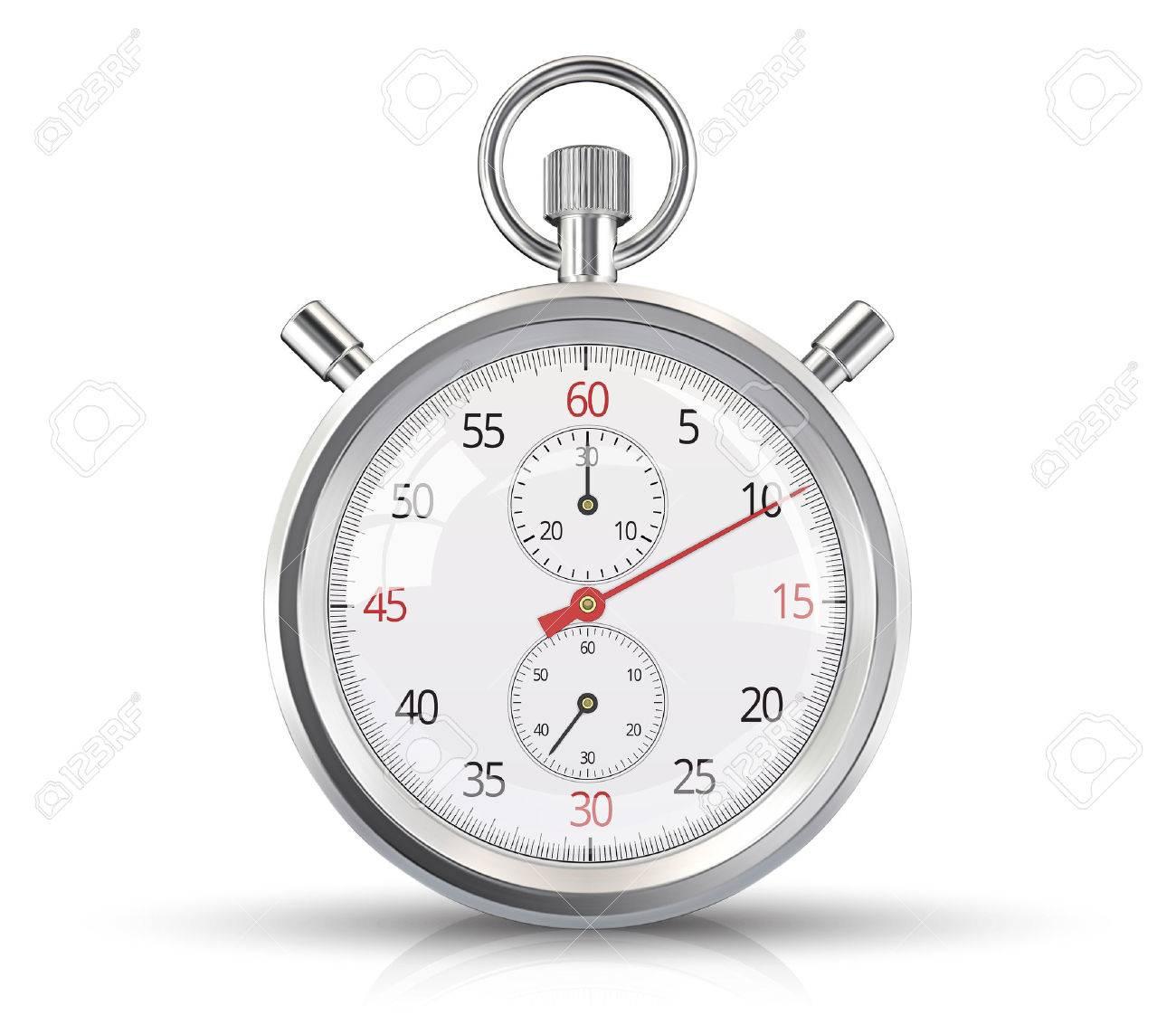 Classic stopwatch Standard-Bild - 43803207
