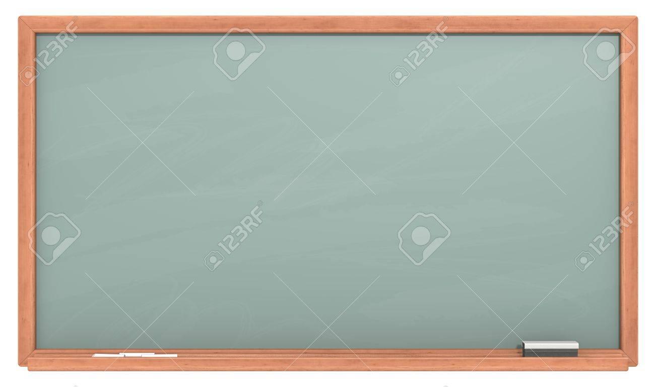 green chalkboard blank chalkboard with wooden frame chalk dust