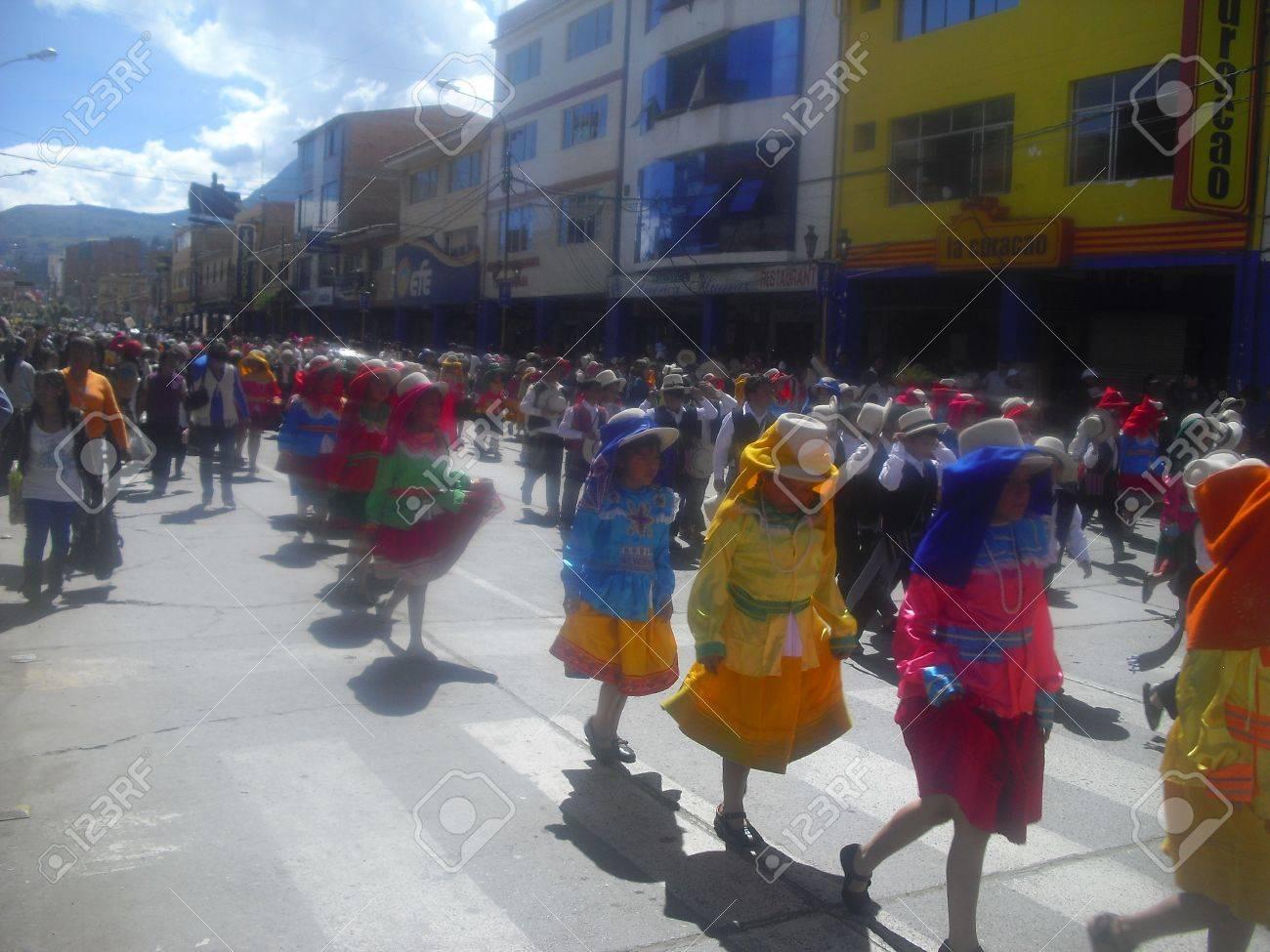 parade of students Stock Photo - 13795755